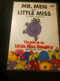 Mr men and little miss dvd