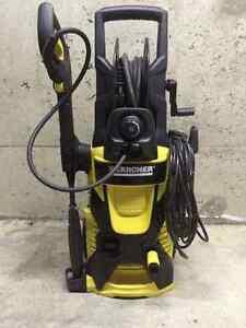 Karcher 2000psi pressure washer