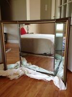 Mirror with hinged side wings - Best OFFER