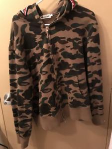 Authentic Bape Shark hoodie size L