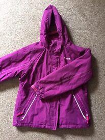 Girls Regatta Waterproof coat/jacket