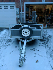 2017 Utility Trailer with Ramp