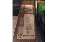 Brand new unopened Packet of 8 planks wooden floor, details on label