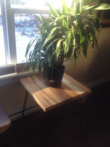 """24"""" x 24"""" occasional table on hairpins"""