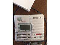Sony MD Walkman and digital recorder