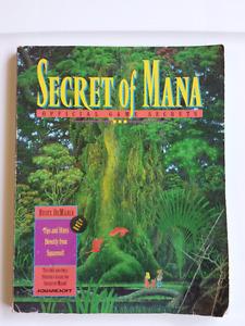 Selling Original Secret of Mana Guide for SNES