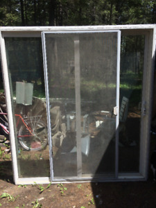 Aluminum Frame Sliding patio door and large windows