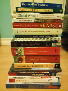 Assorted Textbooks/Non-Fiction! Soc/Anth/Psych, English!