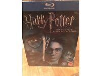 Harry Potter Blue Ray Collection
