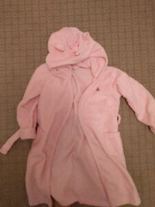 Baby Gap 5T Nodded Pink Towel Robe