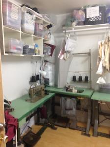 Atelier de couture à votre disposition