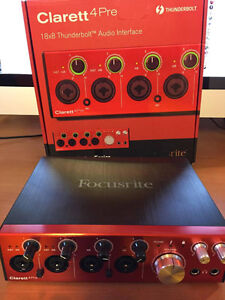 Focusrite Clarett 4Pre Thunderbolt - Interface audio