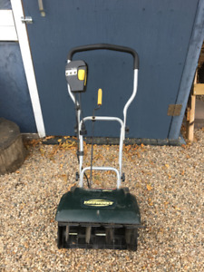 Yardworks 10A Snow Thrower for sale