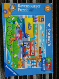 my first floor puzzle ravensburger on the move