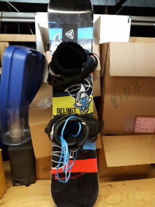 Firefly snowboard with boots & bindings