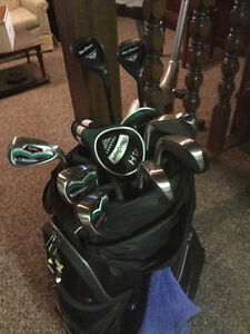 McGregor Tourney Irons with Graphite Shafts