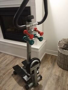 Advantage Fitness Stepper with Weights