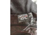 AKITO Blue and black Jacket