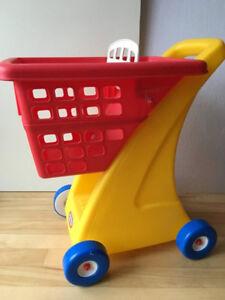 Panier d'épicerie - Little Tikes Grocery Cart COMME NEUF