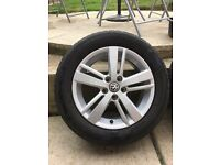 VW polo 6R alloy wheels