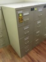 4 Drawer Vertical Filing Cabinets (Legal Size).
