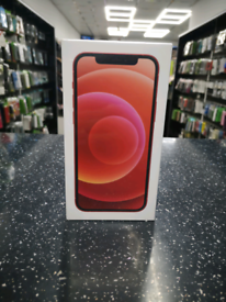IPHONE 12 64GB RED BRAND NEW SEALED FACTORY UNLOCKED RRP £799