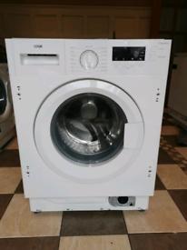 New Logik LIW814W15 Integrated 8 kg Washing Machine RRP£299