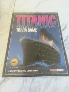 Titanic Trivia game..new..sealed
