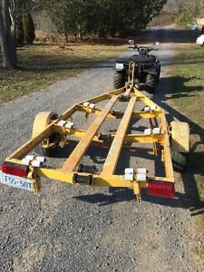 "Heavy duty galvanized 14"" boat trailer Kingston Kingston Area image 2"