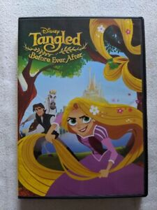 Tangled Before Ever After DVD