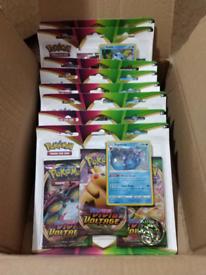 Sealed pokemon booster packs - vivid voltage, darkness ablaze, cosmic