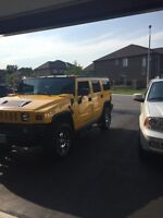 2005 hummer h2 certified, Etested and power train warranty.