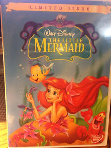 DISNEY THE LITTLE MERMAID DVD 'RARE' -  LIMITED ISSUE