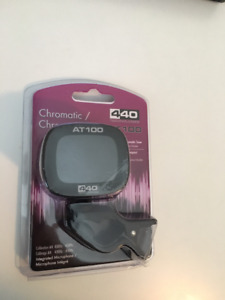 440 Technologies AT100 Compact Chromatic Digital Guitar Tuner