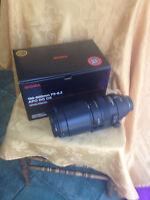 Sigma DG 150-500mm avec filtre clair BW
