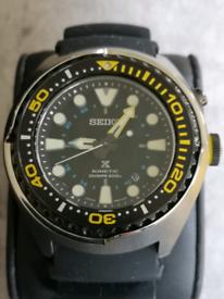 Mens Seiko kinetic divers watch