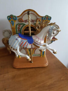 Hold Carrousel Music Box By Willitts