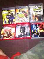 PS3 GAMES 6 OF THEM