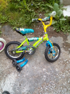 Boys bike hardly used
