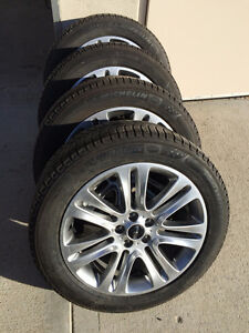 Lincoln MKC/Escape - Wheels/Xice Tires/TPMS- 235/50R18