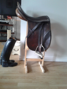 Stubben Schultuis dressage saddle