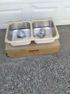 Brand New Onex 4 hole sink