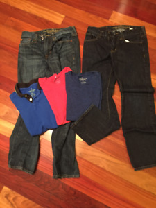 AmericanEagle Mens Jeans and t-shirts
