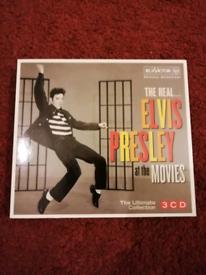 Elvis Presley. The real Elvis Presley at the movies. 3 CD set.