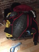 Protection pour motocross + velo + skidoo + paintball