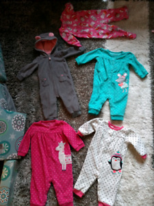 5 Sleepers Size 6 Months - Excellent Condition