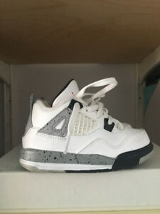 *** Nike Air Jordan 4 Retro cement Kids