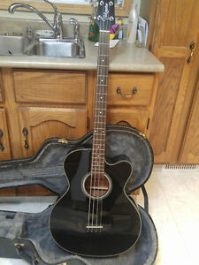 Beautiful Takamine Acoustic/electric Bass