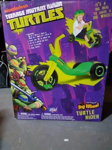 Teenage Mutant Ninja Turtles  Big Wheel Turtle Rider.
