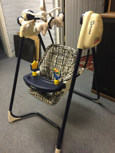 Baby swing - free - not working